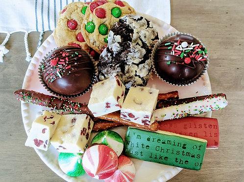 Large Christmas Dessert Box