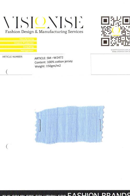 SM –W2472 100% cotton jersey