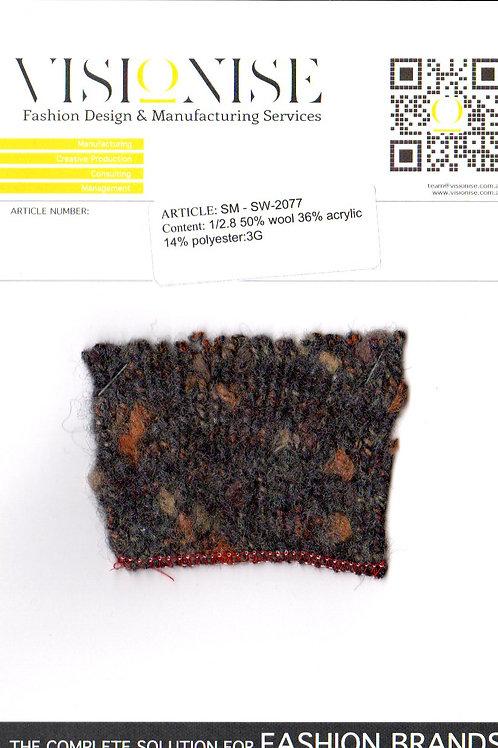 1/2.8 50% wool 36% acrylic 14% polyester:3G