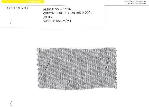 60% cotton 40% modal jersey