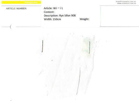 WJ-11 Ryn Sifon 908