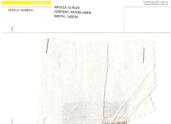 Rayon Linen