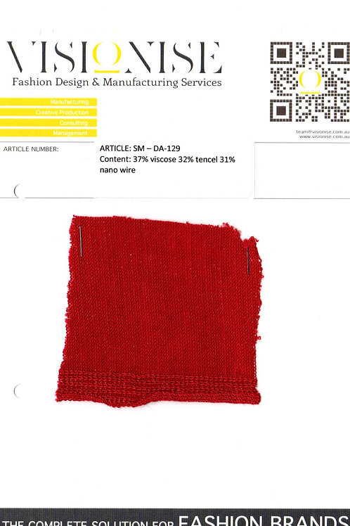37% viscose 32% tencel 31% nano wire