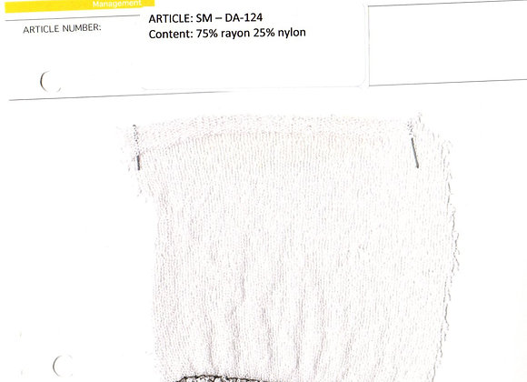 75% rayon 25% nylon