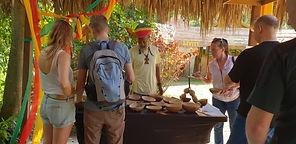 Authentic Jamaican Tours.  Rastafarian Village