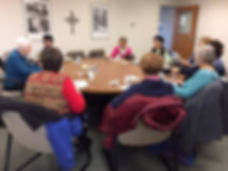 Kindred Sisters group meets weekly at Westminster Presbyterian Church.