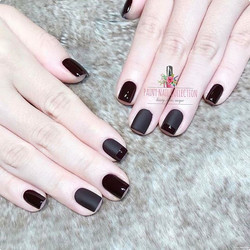 Black=Cool 💄__Follow us for more info__WeChat_paintnailcollection _Facebook_ Paint Nail Collection