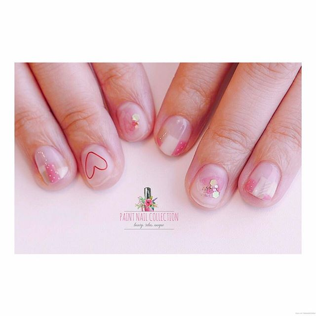 簡單💅🏻短甲造成也一樣美!_Light and Simple ✨__Follow us for more info__WeChat_paintnailcollection _Facebook_ P