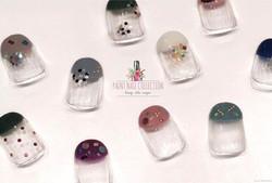 各種法式美甲,那一個是你最愛呢?😁_French Nails! Which one you like the most_!👀 Follow us for more info__WeChat_pai