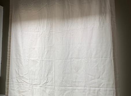 Shortening a curtain