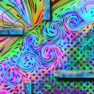 Pop Swirl Squared