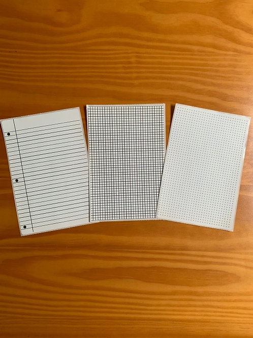 Dots Lines Grids 4x6 sticker sheets