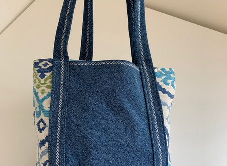 Small Denim Bag