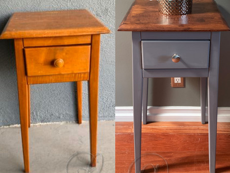 Small side table upcyle