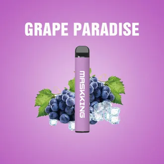 Одноразовая ЭС MASKKING HIGH GT - GRAPE PARADISE (ВИНОГРАДНЫЙ РАЙ)