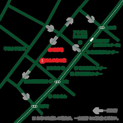 ほんまちの家 地図
