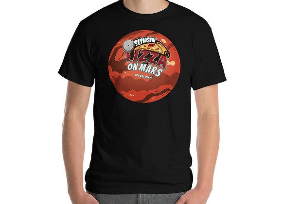 Slingin' Pizza on Mars T-Shirt