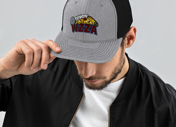 Slingin' Pizza Logo Trucker Hat