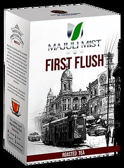 Tea-Box (Majuli Mist, First Flush, Roast
