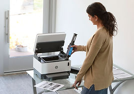 HP Neverstop 1200 with toner - Image 2.j