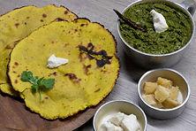 Sarson ka Saag- Makke Di Roti with Gud &