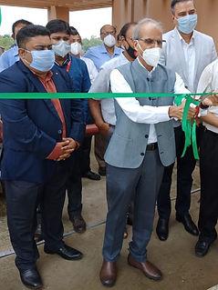 Ribbon cutting by  Prof Virendra Kumar T