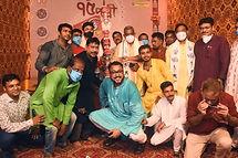 Sri. Debasish Kumar & others during the Khuti Puja of Bhowanipur 75 Palli..jpg