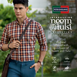 Peter England Launches Neem Tulsi Collec
