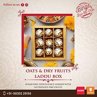 Binge Baefikar dry fruits Laddu box.jpg