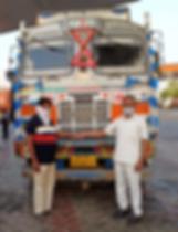 Tata Motors supports frontline hero truc