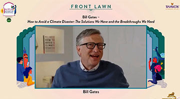 Bill Gates in conversation with Alok Sha