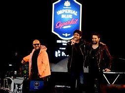 Sunil Gorver, Vishal & Shekhar performed