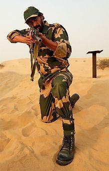 Rana Daggubati_Mission Frontline_firing
