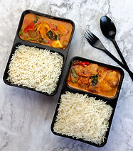 CHICKENVEG THAI RED CURRY WITH STEAMED RICE.JPG