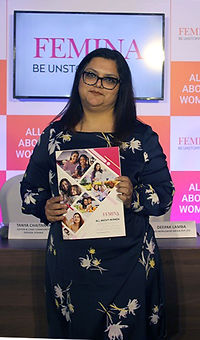 Tanya Chaitanya - Editor of Femina copy.