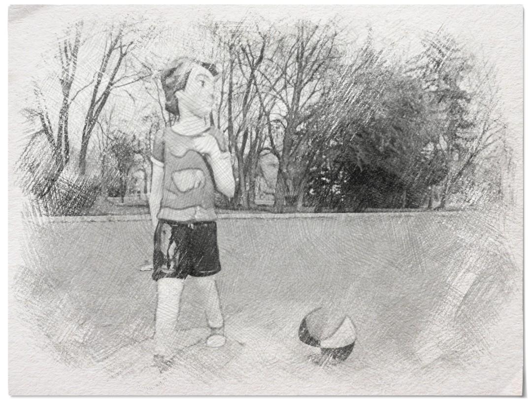 kids basket court