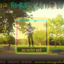 Sea Garden park by tFv -Hand court