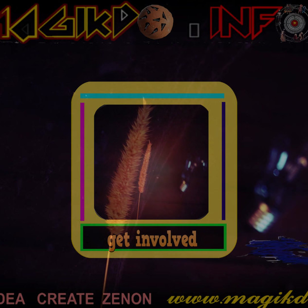 GET INVOLVED.-by magiko