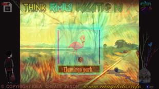 think Larnaka- flamingo