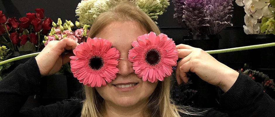 A escolha da florista