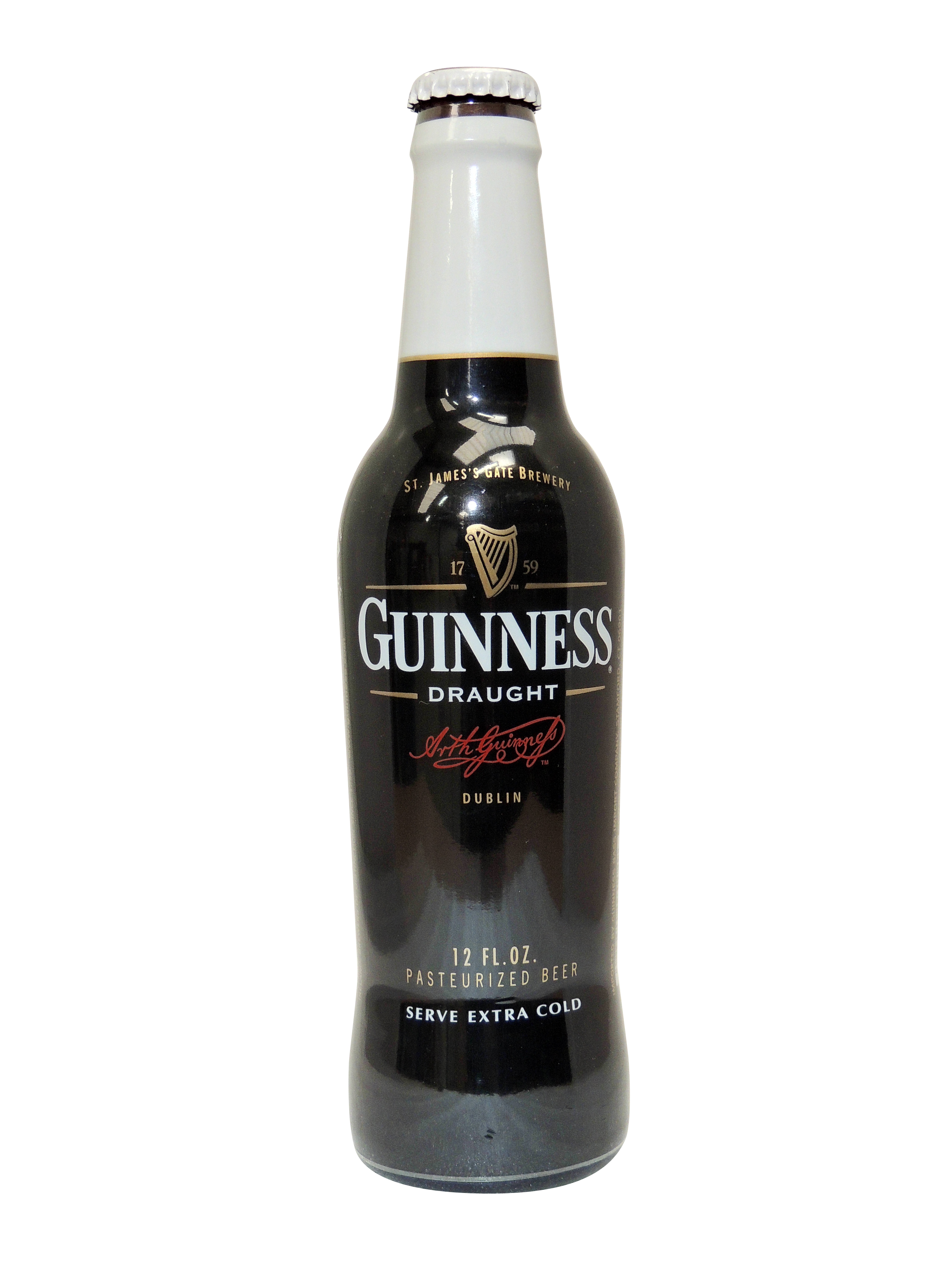 guinness beer bottle shrink sleeve label Celtheq