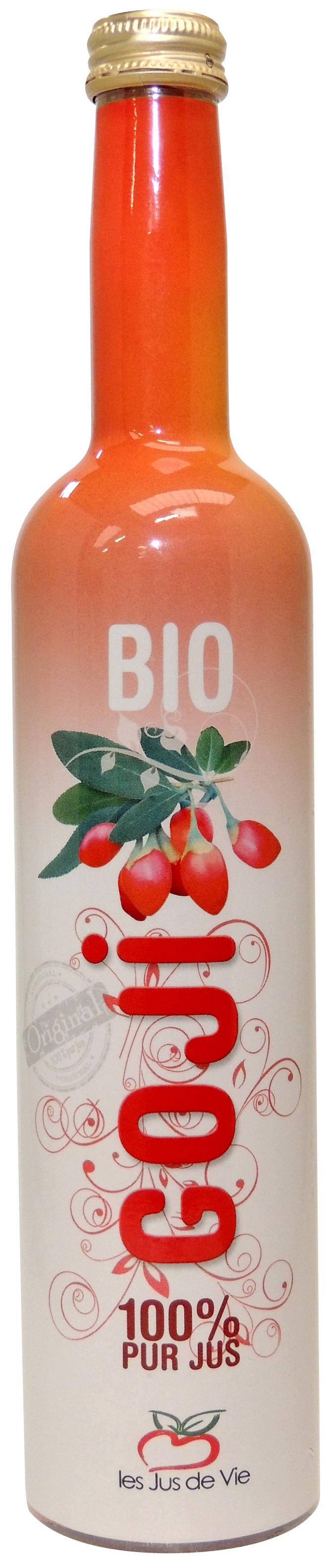 goji bottle shrink sleeve label Celtheq