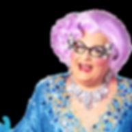 Michael Walters - Dame Edna tribute artist, Dame Edna impersonator, Dame Edna look alike.
