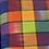 Thumbnail: ColorBlocks Bright Rainbow in HAND WOVEN COTTON