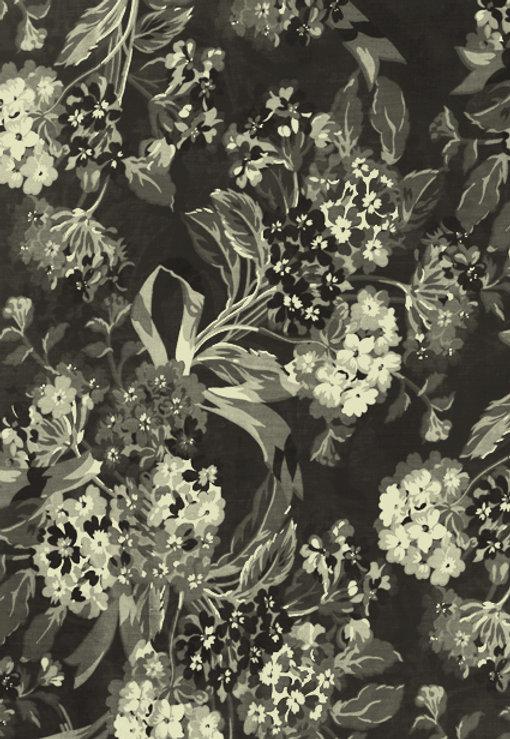 Fleur noir et blanc Imprimer