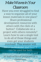 Make Waves in Your Classroom