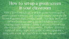 Green Screen Set-Up