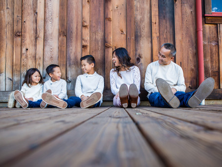 Family Photography Session @ Old Poway Park