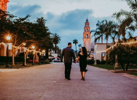 Balboa Park Engagement Photography | Chloe & Chris