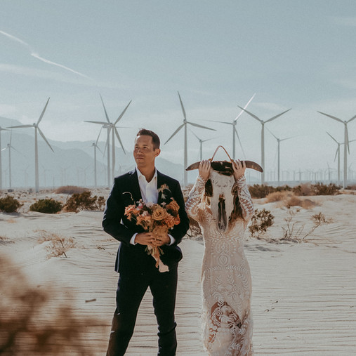 Palm Springs Elopement | Debbie & Anthony | San Diego Elopement Photographer